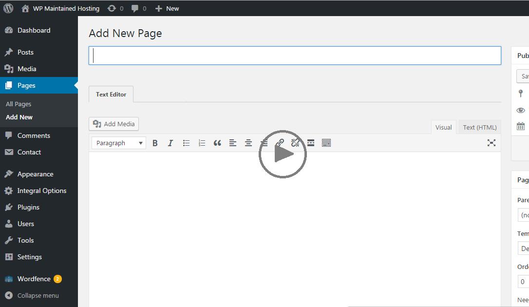 WordPress Tutorial Videos
