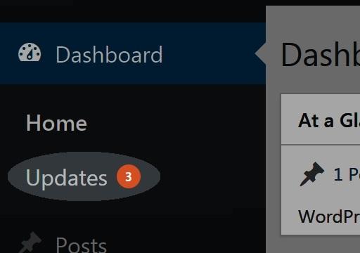 WordPress Updates Notification